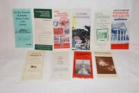 Large Group of Tourist Brochures 1950s and 60s Pennsylvania LOOK!