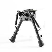 "Harris Style 6""-9"" Spring Return Rifle Bipod Rotating Adjust Sling Swivel Mount"