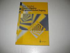 Lineare Algebra Ein geometrischer Zugang von Diane Hansford, Gerald Farin (2003)