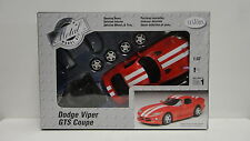 Testors Dodge Viper Gts Coupe Red 1/32 scale Model Car Metal Body