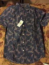 Nautica Boys Cotton Short Sleeve  dress shirt