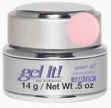 EzFlow LED/UV Gel It Cover It Warm Pink I - 14 g / 0.5 oz-42365