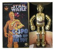 Star Wars C-3PO Osaka Tinplate Limited Retro Toy 1997 Vintage Japan New Rare