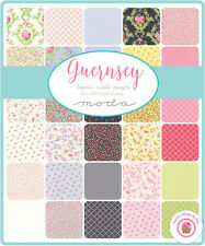 "Moda GUERNSEY Brenda Riddle LAYER CAKE 42 10"" Squares Quilting SHABBY CHIC"