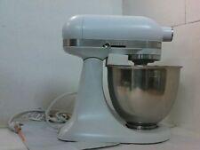 NEW OPEN BOX KitchenAid KSM3316XFW 3.5-Qt Artisan Mini Mixer, Matte White $500