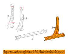 TOYOTA OEM 14-17 Corolla-Center Pillar & Rocker Right 6131102300