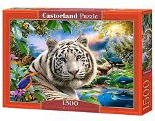 Castorland C-151318 Puzzle Twilight Weißer Tiger Natur Tiere 1500 Teile