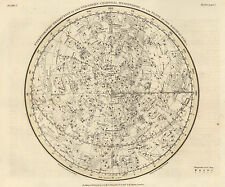Poster – Celestial Atlas by Alexander Jamieson from 1822 (Vintage Picture Art)