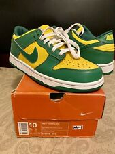 2001 Nike Dunk Low Brazil Sz 10 (Pre-Owned Condition)
