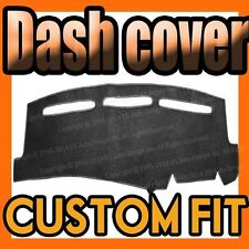 fits 1978-1989  PORSCHE  928  DASH COVER MAT DASHBOARD PAD /  BLACK