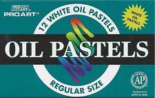 12 PIECE PASTEL SET ~ WHITE OIL PASTELS ~ NEW!