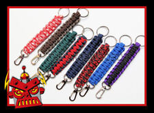 Paracord Keychain Lanyard with Gate Snap - over 65 colors to choose