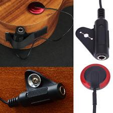1pcs New Piezo Contact Microphone Pickup For Guitar Violin Banjo Mandolin Ukulel