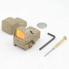 JJ Airsoft DR Mini Red Dot Sight Light Sensor (Tan)