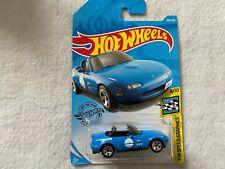 Blue 91 Mazda MX-5 Miata HW Speed Graphics Hot Wheels