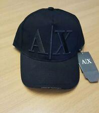 Armani Exchange Cap Black , AX Baseball Cap Black, Black Cap. Baseball cap