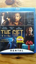 The Gift (Blu-ray ONLY, 2015) RENTAL VERSION No DVD or Digital Great Condition