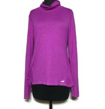 Avia Large Cowl Neck Lightweight Pullover Thumb Holes Walking Outdoor Running