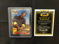 Willie Stargell AUTOGRAPH Canadian Club Classic Stars On Card Auto Authenticated