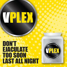 VPLEX MAXIMUM DELAY PILLS PREMATURE EJACULATION TABLETS LAST LONGER HOURS