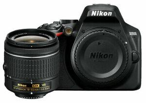 Nikon D3500 24.2MP with 18-55mm VR Lens Kit DSLR Camera - Black.