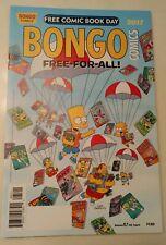 Free Comic Book Day FCBD 2017 Simpsons Futurama UNSTAMPED NM+ BONGO