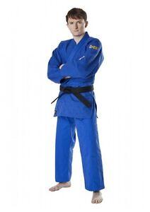 Dax Sports Judo Suit, Tori Gold, Blue 130-190cm. Gi Kimono. Certified