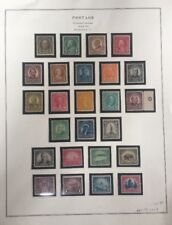 1922-26 Postage Stamp Collection 551-73 & 622-3 Perforated 11 Unwatermarked MNH