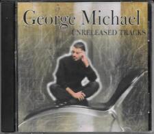 """GEORGE MICHAEL - RARO CD """" UNRELEASED TRACKS """""""