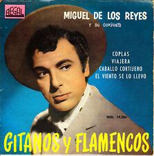EP MIGUEL DE LOS REYES y su CONJUNTO coplas + 3 SPAIN 1961