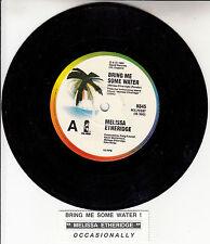 "MELISSA ETHERIDGE  Bring Me Some Water 7"" 45 rpm record + juke box title strip"