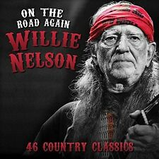 2 CD Willie Nelson on The Road Again 46 Country Classics Always on My Mind Etc