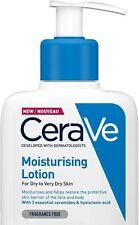 NEW CeraVe Moisturising Lotion | 236ml/8oz | Daily Face & Body Moisturiser