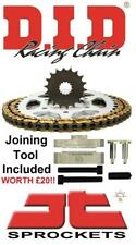 Suzuki DRZ 400 SM 05-09 DID & JT Chain And Sprocket Kit + Tool