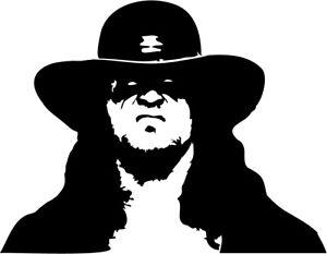 The Undertaker VINYL DECAL STICKER wrestler WWF WWE under taker pro