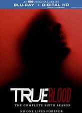 True Blood: The Complete Sixth Season (Blu-ray Disc, 2015, 4-Disc Set)