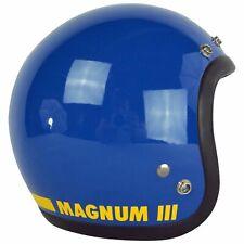 VTG BEAUTIFUL '75 BELL MAGNUM MAG III 3 MOTORCYCLE CAR RACING BLUE HELMET 6 7/8
