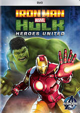 Iron Man  Hulk: Heroes United (DVD, 2013) *Disc Only-NO CASE *Free Ship!