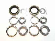 (Qty 2) 3500# Trailer Bearing Kits L44649 L68149 with 1.719'' Seals #84 Spindle