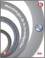 Metodologia De La Investigacion (5ta Edición) isbn 6071502918