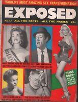 Exposed Magazine Vol 1 #12 February 1957 Diana Dors Ernest Hemingway 012819AME