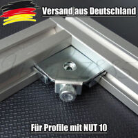 Innenwinkel Aluprofil Verbinder Nut 10 Profilverbinder EN 1.1191 Profil L0063