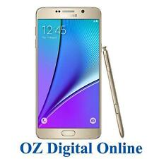 "Samsung Galaxy Note 5 N920i 5.7"" 64gb LTE Unlocked Smartphone Gold AU"