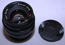 CONTAX G Carl Zeiss Planar 45/2 Black Leica M mount Hawks Factory