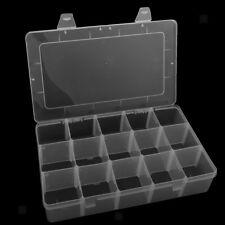 Crafts Organizer Storage Box w/ 15 Compartments for Washi Tape Art Supplies