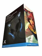 LED With High Function Speakers Axent Wear Cat Ears Heaphones by Yummei - Blue