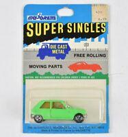 Majorette Super Singles Renault 5 Green #257 Sealed in Blisterpack 1:64 MOC