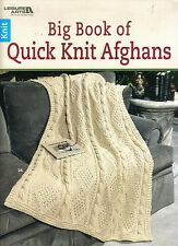 Big Book of Quick Knit Afghans  ~ Knitting Book  ~ BRAND NEW  ~