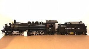 LGB G SCALE 22892 SUMPTER VALLEY MALLET STEAM LOCOMOTIVE #250 & TENDER W/ SOUND