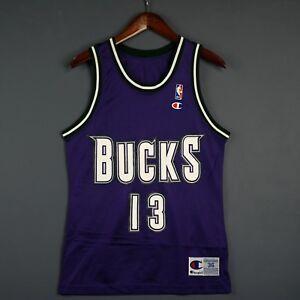 100% Authentic Glenn Robinson Vintage Champion Bucks NBA Jersey Size 36 S Mens
